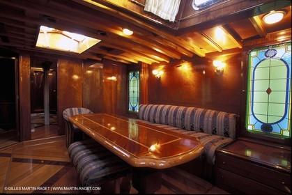 Interiors - Classic yachts - Agneta