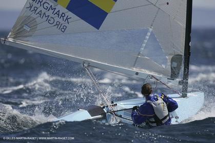 2005 Hyeres Sailing Week (SOF) - Finn