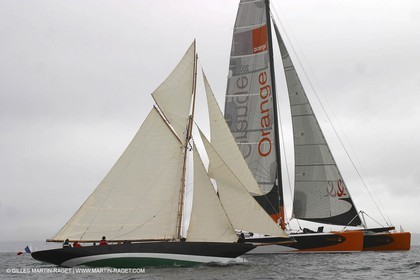 Orange II-Orange II in Brest 2004-Sailing with PenDuick