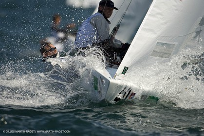 07-05-07 - ISAF SAILING WORLD CHAMPIONSHIPS - CASCAIS 2007 - DAY 2 - Star Class - FRANCE - Rohart-Rambeau