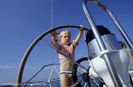 Sail - Cruising - People - Helm