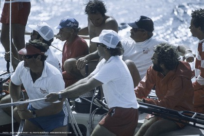 Sailing, yacht Racing, SORC 1981, Miami (FL)