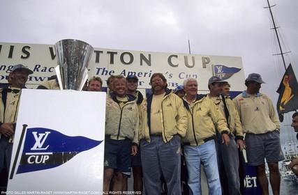 America's cup - San Diego 1995 - Team NZ, 1995 Louis Vuitton Cup winner