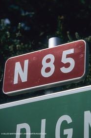 France, Provence, Route Napoleon, Napoleon Road