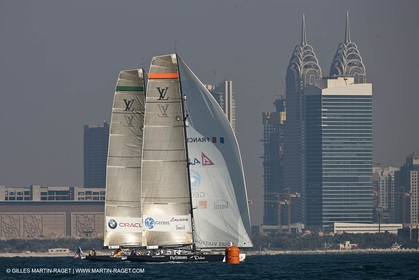 26 11 2010 - Dubai (UAE) - Dubai Louis Vuitton Trophy -1 2 final - BMW ORACLE Racing Vs All4One