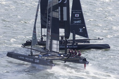28 08 2015, Göthenburg, (SWE), 35th America's Cup, Louis Vuitton America's Cup World Series Göthenburg 2015, Training Day