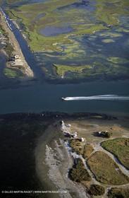 Gracieuse laguna, Rhone river mouth, fos gulf
