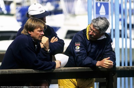 America's cup - San Diego 1995 - Young America - Bruce Nelson - John Marshall