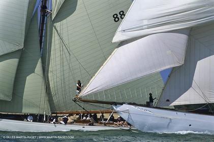Sailing, Classic yachts, Voiles de Saint-Tropez 2003