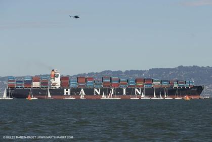22 09 2013 - San Francisco (USA,CA) - 34th America's Cup - Final Match - Racing Day 12.