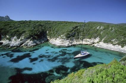 France - Corsica - Bonifacio Straight