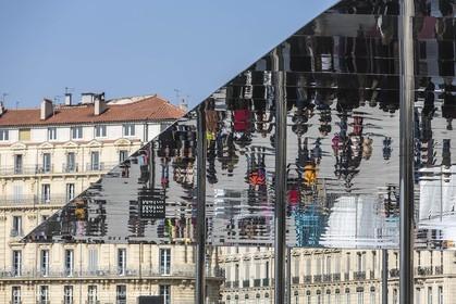 02 02 2013,  Marseille, FRA, 13, Inauguration de l'ombrière et du Vieux Port semi-piétonnier