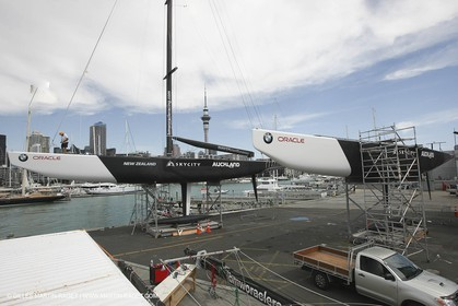 21 01 2009 - Auckland (NZL) -  Louis Vuitton Pacific Series - BMW ORACLE Racing