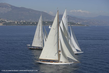 Monaco Classic Week - J Class Challenges - Cambria - Ranger - Shamrock