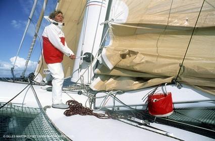 Laurent Bourgnon onboard Primagaz