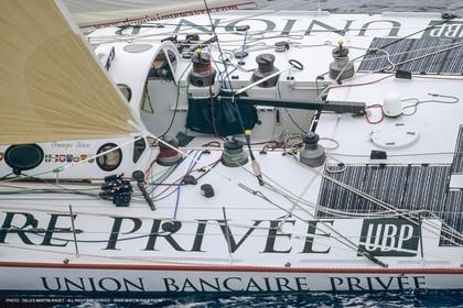 IMOCA, UBP, Dominique Wavre, Vendée Globe 2000-2001