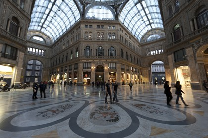 24 02 2012 - Naples (ITA) - 34th America's Cup - America's Cup World Series Naples 2012 - Naples Preview - Galleria Umberto I