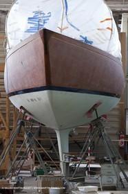13 03 2010 - La Ciotat (FRA,13) - Fantasque -  modifications at Charpentiers Réunis boatyard