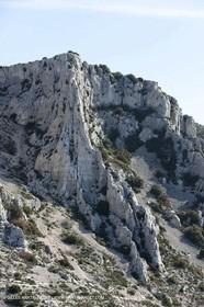 30 04 2009 - Marseille (FRA, 13) - Les Calanques- Cap Gros cliffs