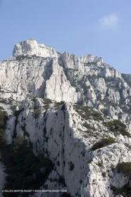 19 03 2009 - Marseille (FRA, 13) - Calanques - Massif de Marseilleveyre - Les têtes de Malvallon