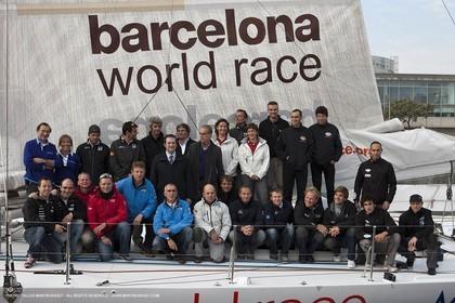 29 12 2010 - Barcelona (ESP) - Barcelona World Race 2010 - Groupe Bel - Preparation