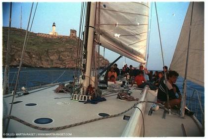 Giraglia 1981, Onboard Helisara VI