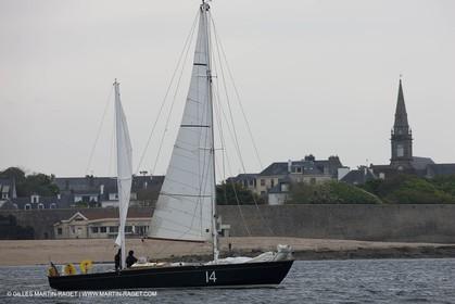 19 05 2010- Lorent- (FRA,56)  -  Pen Duick II in front of  Port Louis