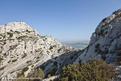 10 09 2009 - Marseille (FRA, 13) - Les Calanques - Massif de Marseilleveyre - Col des Chèvres