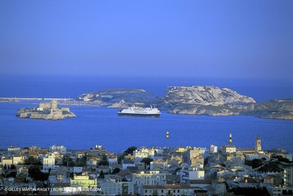 Marseille - Endoume - If Castle - Frioul Island
