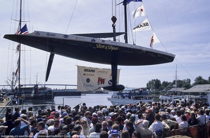 America's cup - San Diego 1995 - Stars and Stripes
