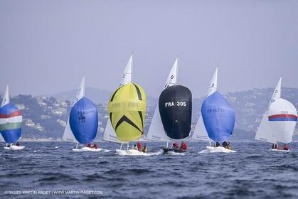 Sailing, One design, Dragon, St Tropez regatta