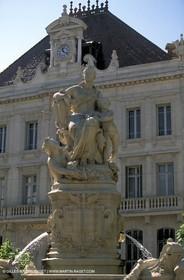 Banque de France fountain
