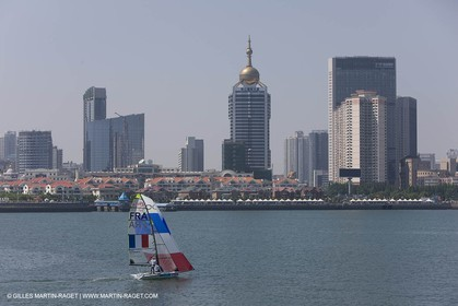 07 08 2008 - Qingdao (CHN) - Olympic games - The olympic Marina