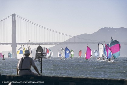 Sailing, Yacht Racing, Big Boat Series , San Francisco (USA)