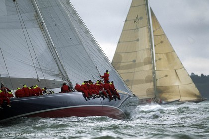 Endeavour - Classic yacht - AmCup Jubilee 2001