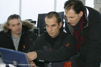 Orange II-2005 Jules Verne Trophy-Start from Lorient-Bruno Peyron
