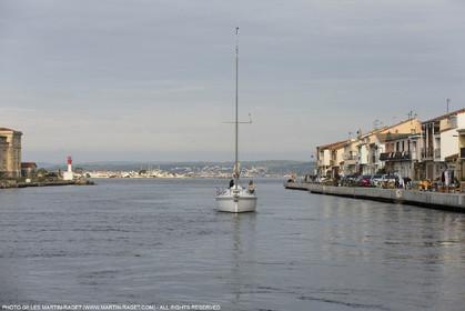 28 01 2016, Sète (FRA,34), Cruising on Thau Basin, Sète