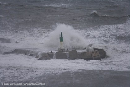 04 01 2008 - Sète (FRA,34) - Easterly gale
