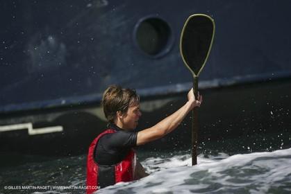 Kiel (Germany) -  06 08 2006 - America's Cup - German Sailing Grand Prix 2006 - Day 4 - Race 3