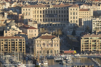 06 12 2012 - Marseille (FRA,13) - City Hall and Hotel Dieu Hotel under works