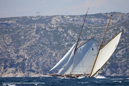 22 06 2010 - Marseille (FRA,30) - Voiles du Vieux Port - Moonbeam IV - Moonbeam of Fife
