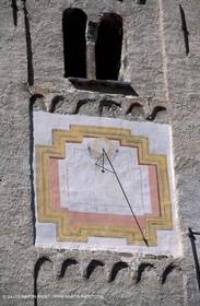 Solar clock from Hautes Alpes