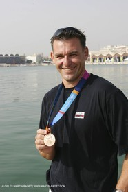 Xavier Rohart and his Star Bronze medal