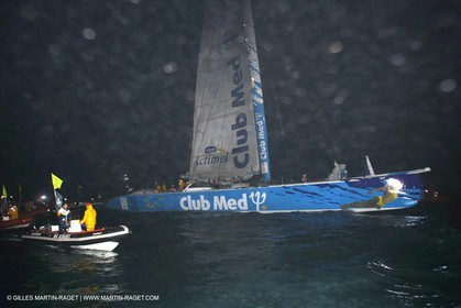 The Race - Club Med finish