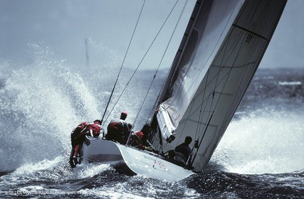 America's Cup, Fremantle 1987 , French Kiss