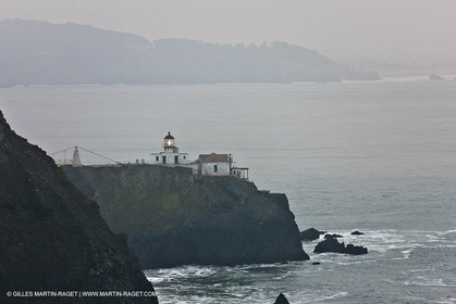 07 01 2011 - San Francisco (USA,CA) -  - Golden Gate National Recreation area - Point Bonita Liighthouse