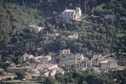 France, Provence, Lubéron, Oppède le Vieux