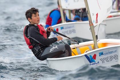 15 04 2016, Marseille (FRA,13), SNIM Dériveurs, Coupe Internationale de Printemps Optimist, Final Day
