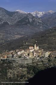 France - Côte d'Azur - Villages perchés des Alpes Maritimes - La Bollène Vésubie