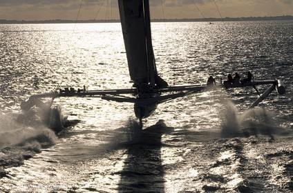 Speed record - l'Hydroptère